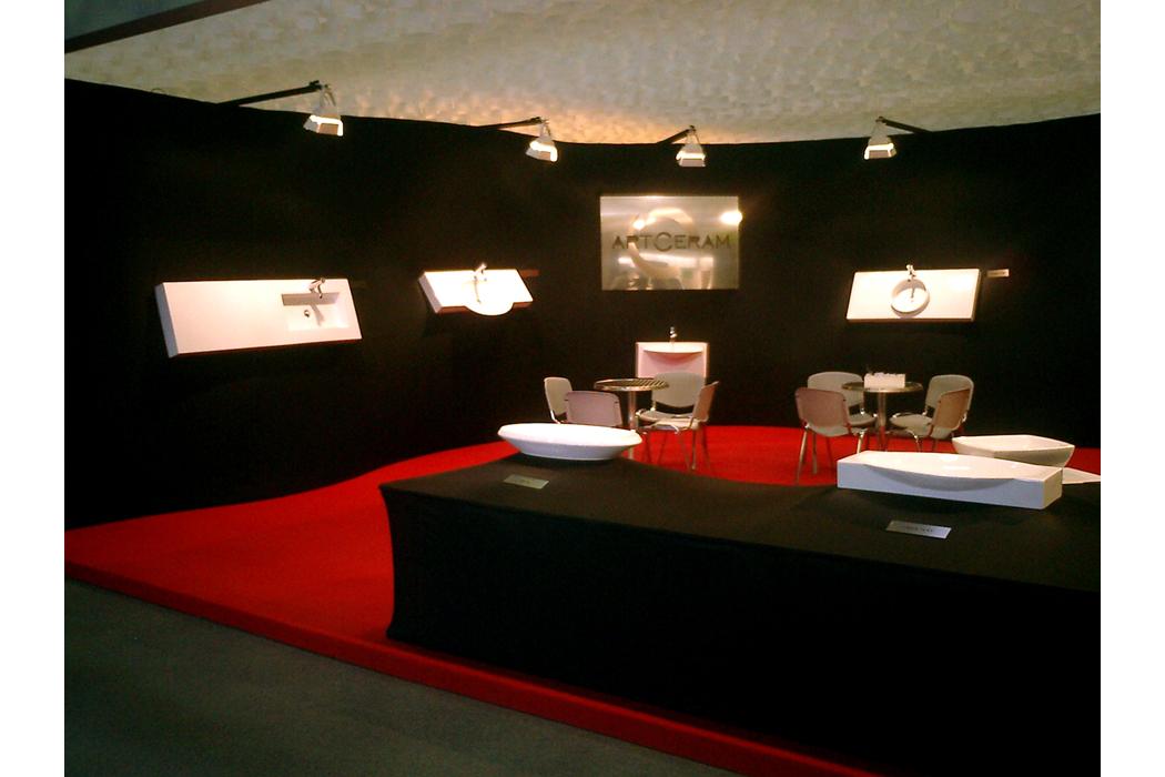 Stand Art Ceram – Abitare il tempo _ Verona 2003 - D\'Arrigo Design